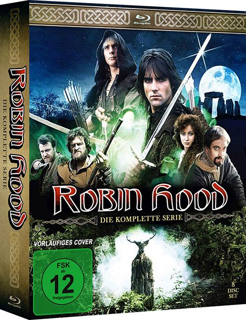 Robin Hood (1984) Die komplette Serie Blu-ray Review Kritik Blu-ray Cover shop kaufen