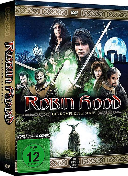 Robin Hood (1984) Die komplette Serie Blu-ray Review Kritik DVD Cover shop kaufen