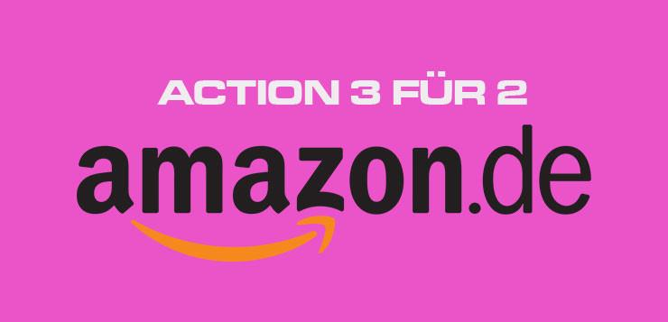 Action 3 für 2 Amazon.de Deal KW 34 KW35 News Kritik Kaufen Shop