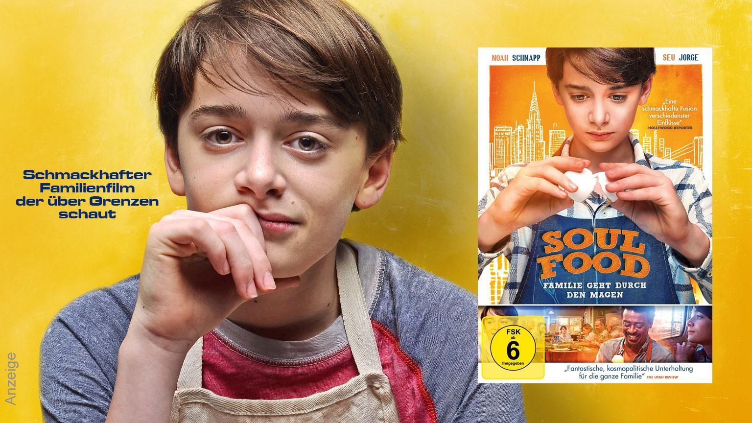 Soulfood Familie geht durch den magen DVD Anzeige shop kaufen Film 2020