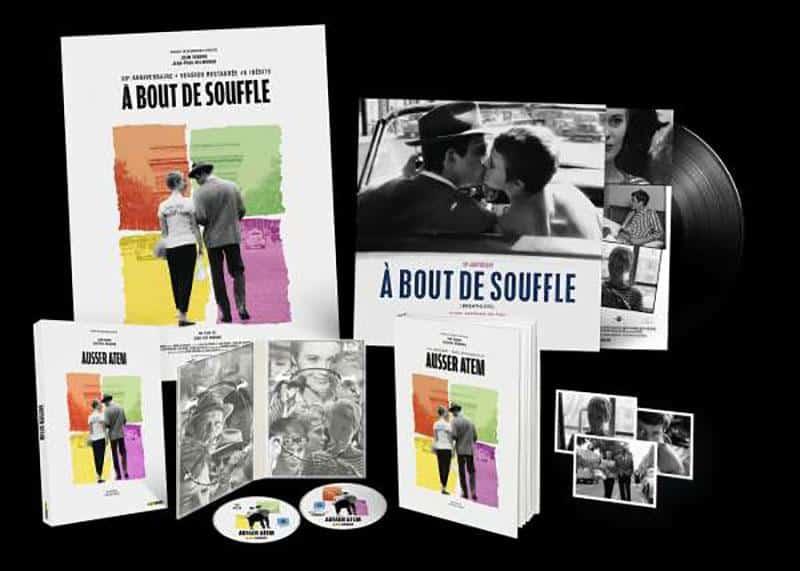 Außer Atem / Limited Vinyl Edition (4K Ultra HD) (+ Blu-ray 2D) shop kaufen