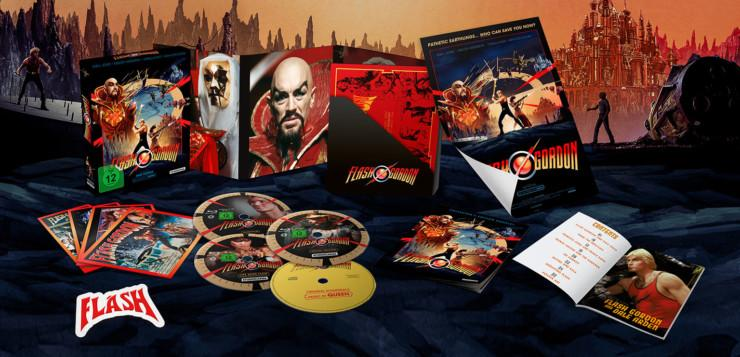 Flash Gordon (1980) 4 Disc Blu-ray Limited Collectors Edition - Review | Studiocanal | 12.08.2020