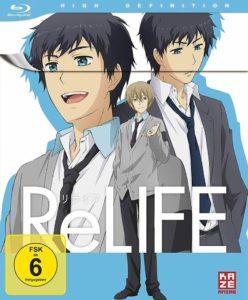 ReLife Vol 1 2016 Anime Serie Film Kaufen Shop News Kritik