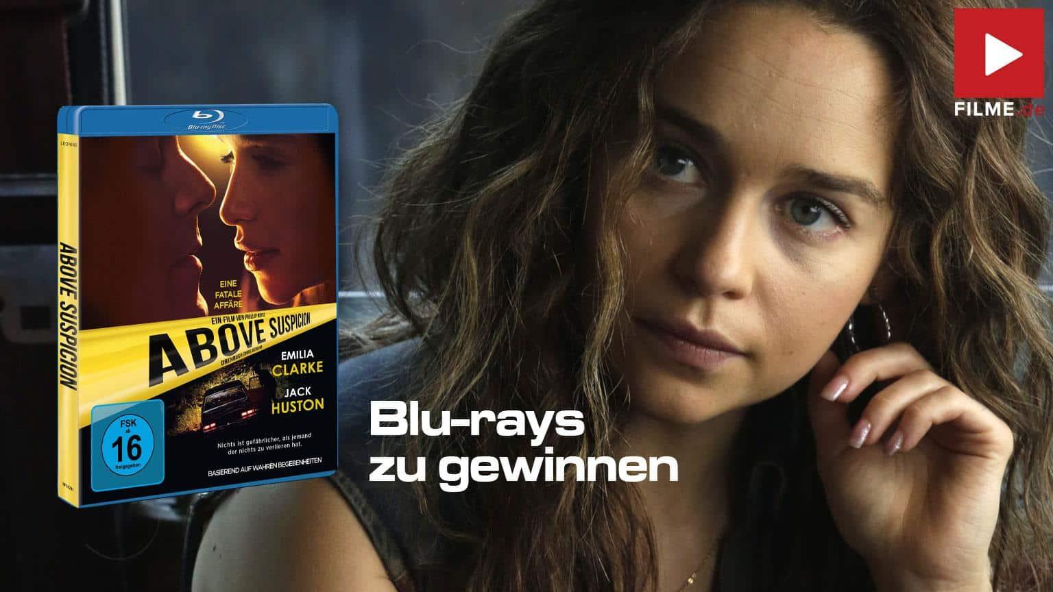 ABOVE SUSPICION Gewinnspiel Film 2020 gewinnen shop kaufen Blu-ray