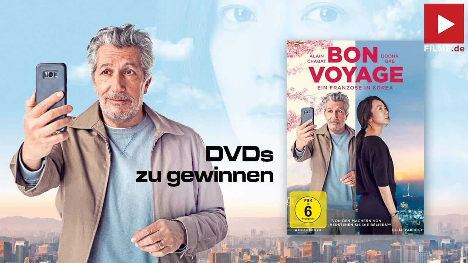 Bon Voyage - Ein Franzose in Korea DVD Gewinnspiel gewinnen shop kaufen Artikelbild