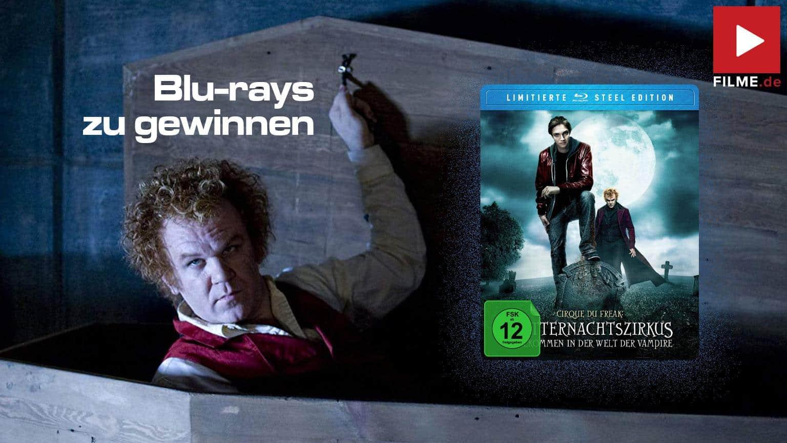 Cirque Du Freak - Mitternachtszirkus (Limitierte Steel Edition) [Blu-ray] Gewinnspiel gewinnen shop kaufen Artikelbild
