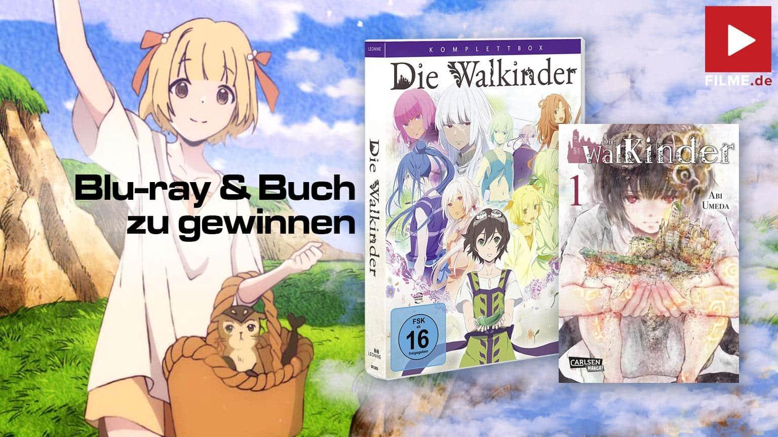Die Walkinder Komplettbox Blu-ray Buch Gewinnspiel gewinnen Artikelbild