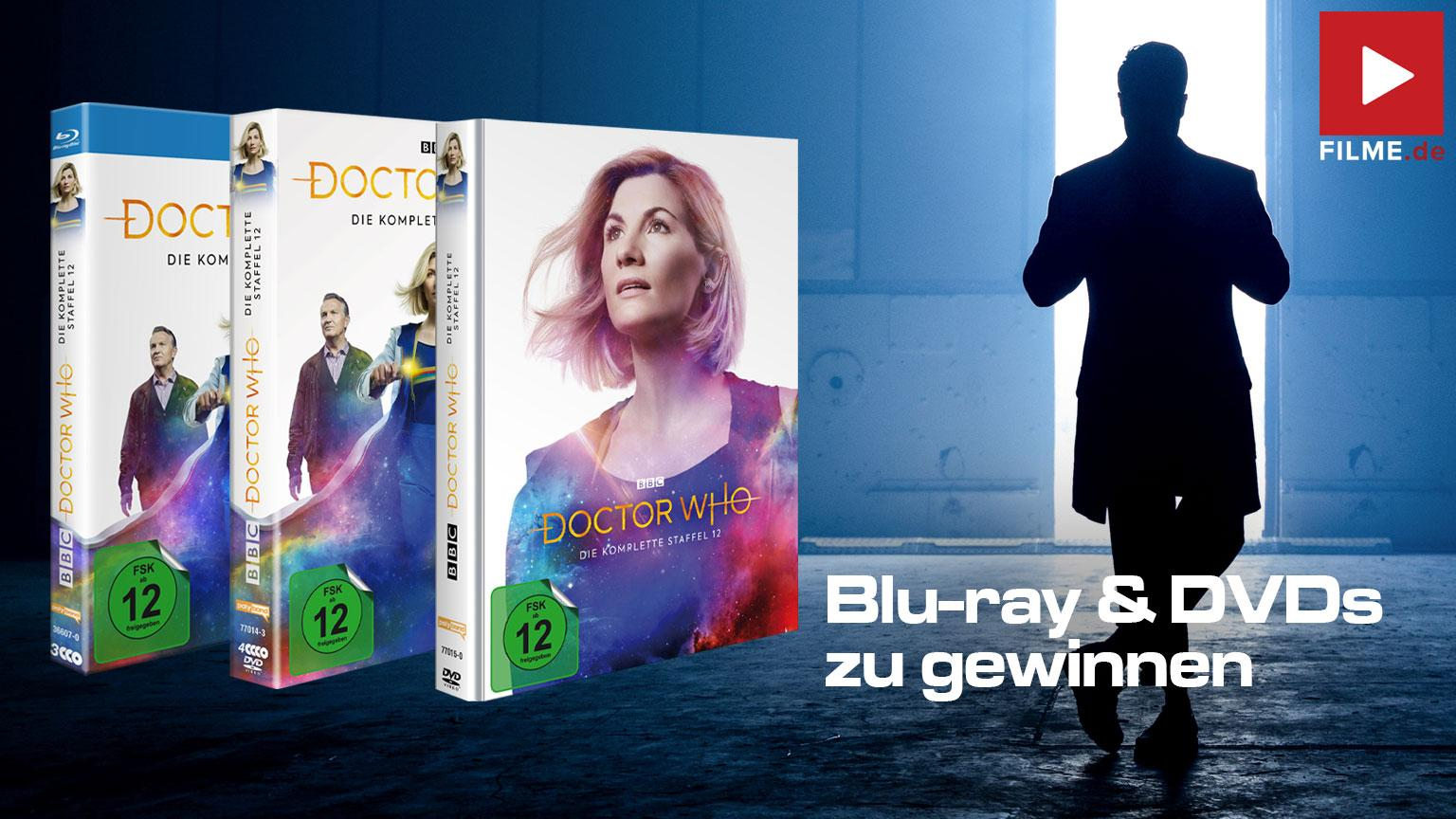Dr. Who Staffel 12 Mediabook DVD Blu-ray Serie gewinnspiel gewinnen shop kaufen Artikelbild