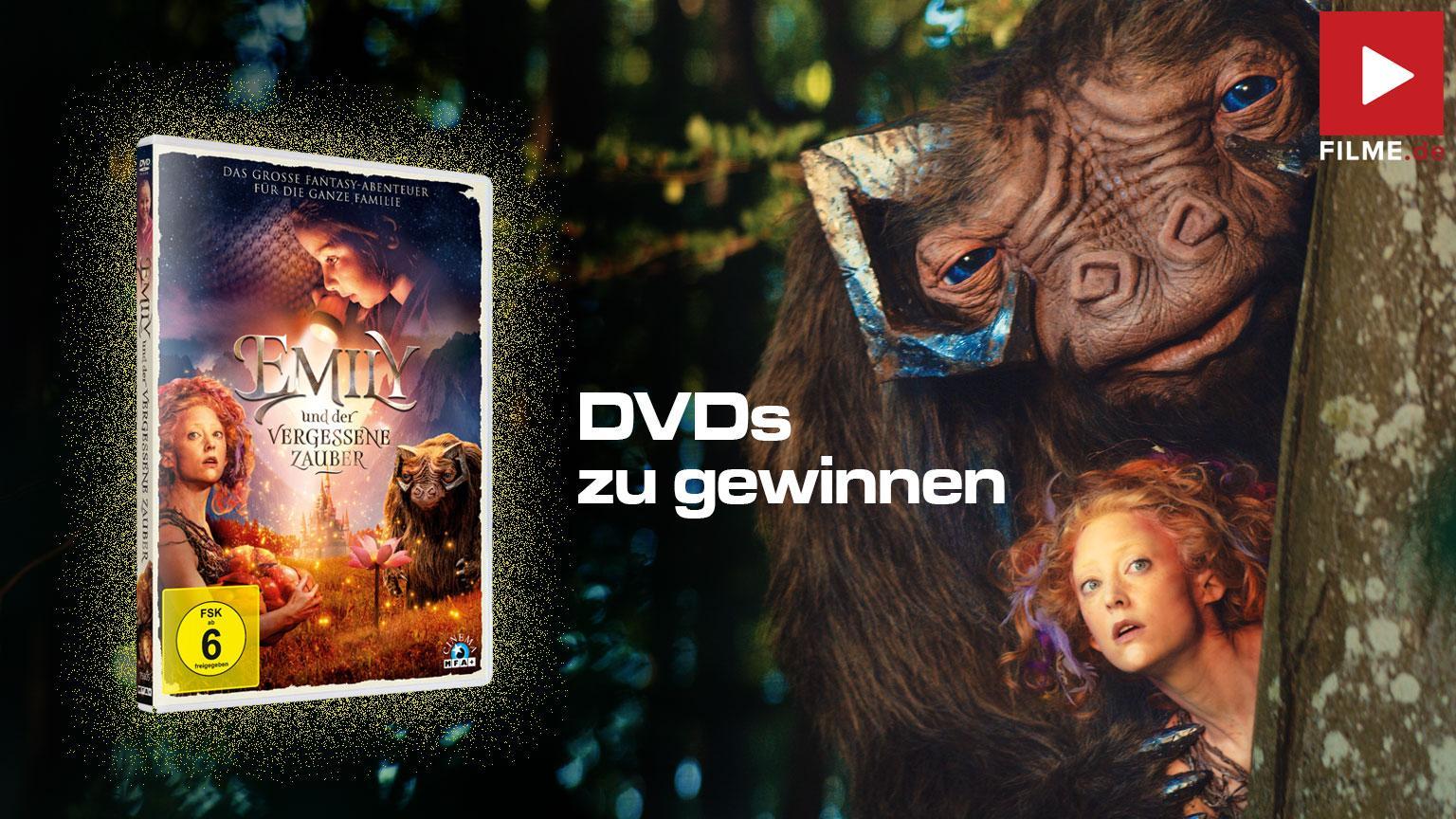 Emely und der vergessene Zuaber Gewinnspiel gewinnen shop kaufen DVD Blu-ray Artikelbild