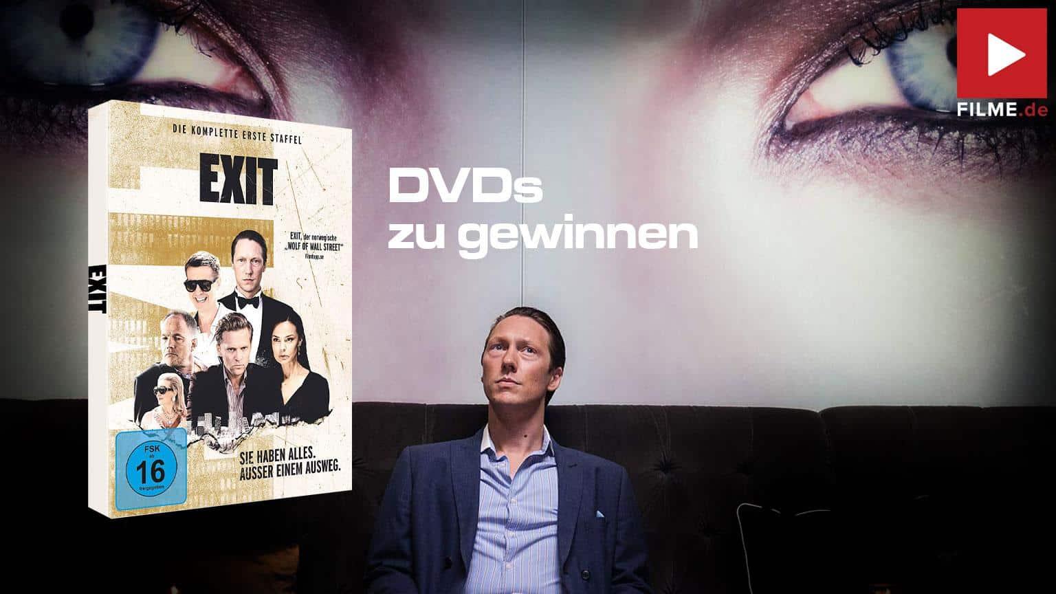 Exit - Die komplette erste Staffel 1 Serie 2020 Gewinnspiel gewinnen shop kaufen Artikelbild