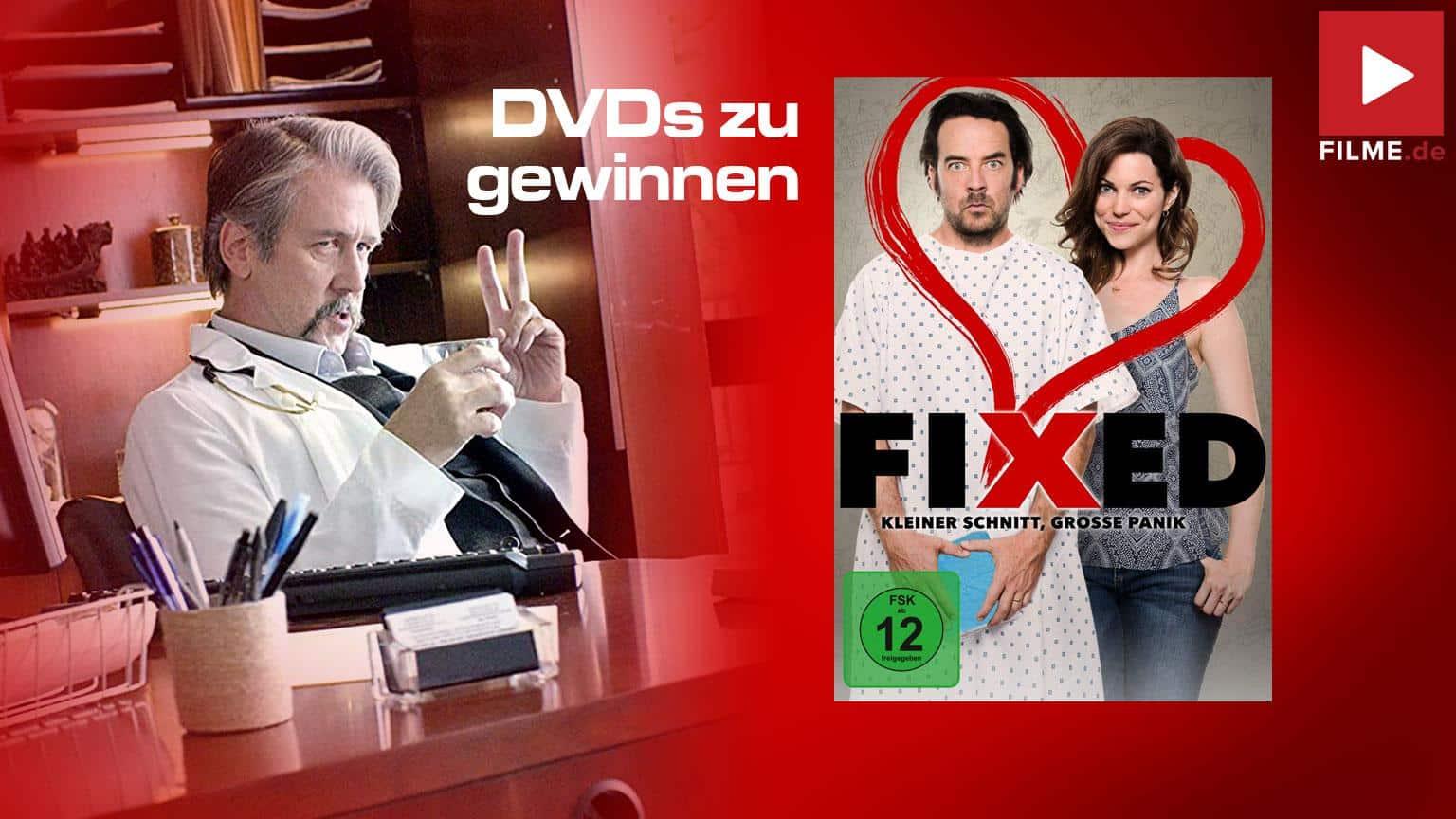 Fixed kleiner Schnitt große Panik Film 2020 Shop kaufen DVD Gewinnspiel gewinnen Artikelbild