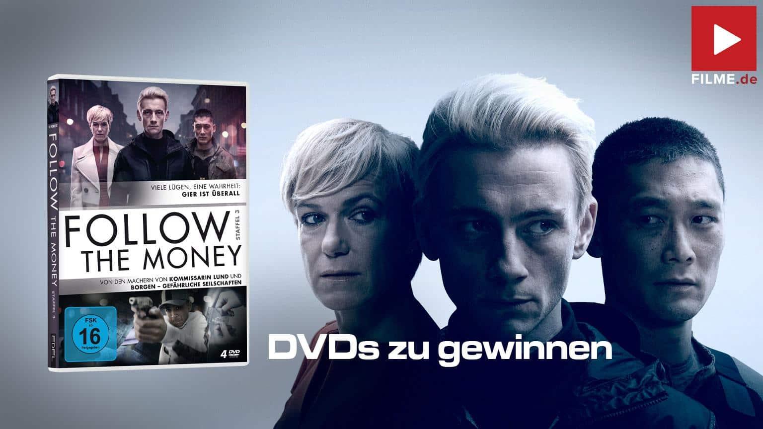 Follow the Money Staffel 3 Serie 2020 Gewinnspiel Artikelbild gewinnen shop kaufen Artikelbild