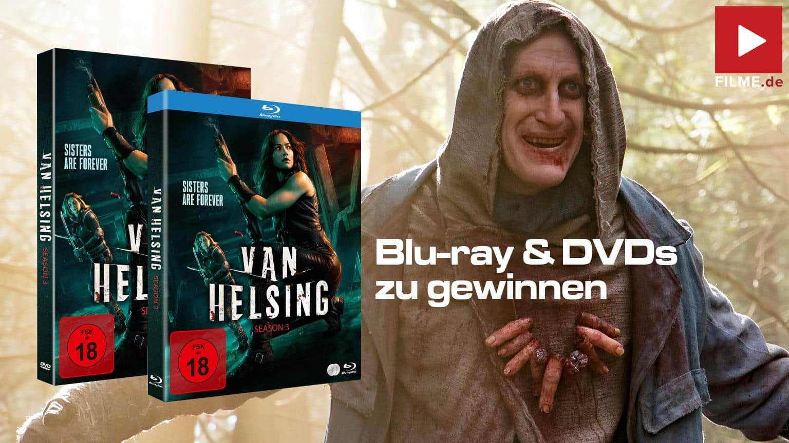 Van Helsing Staffel 3 Gewinnspiel gewinnen Blu-ray DVD shop kaufen Artikelbild
