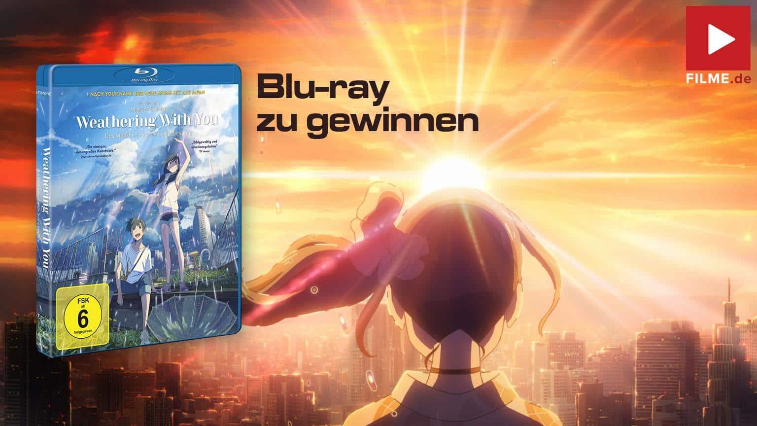 Weathering with you Das Mädchen die die Sonne berührte Film 2020 Blu-ray Cover shop kaufen Gewinnspiel gewinnen