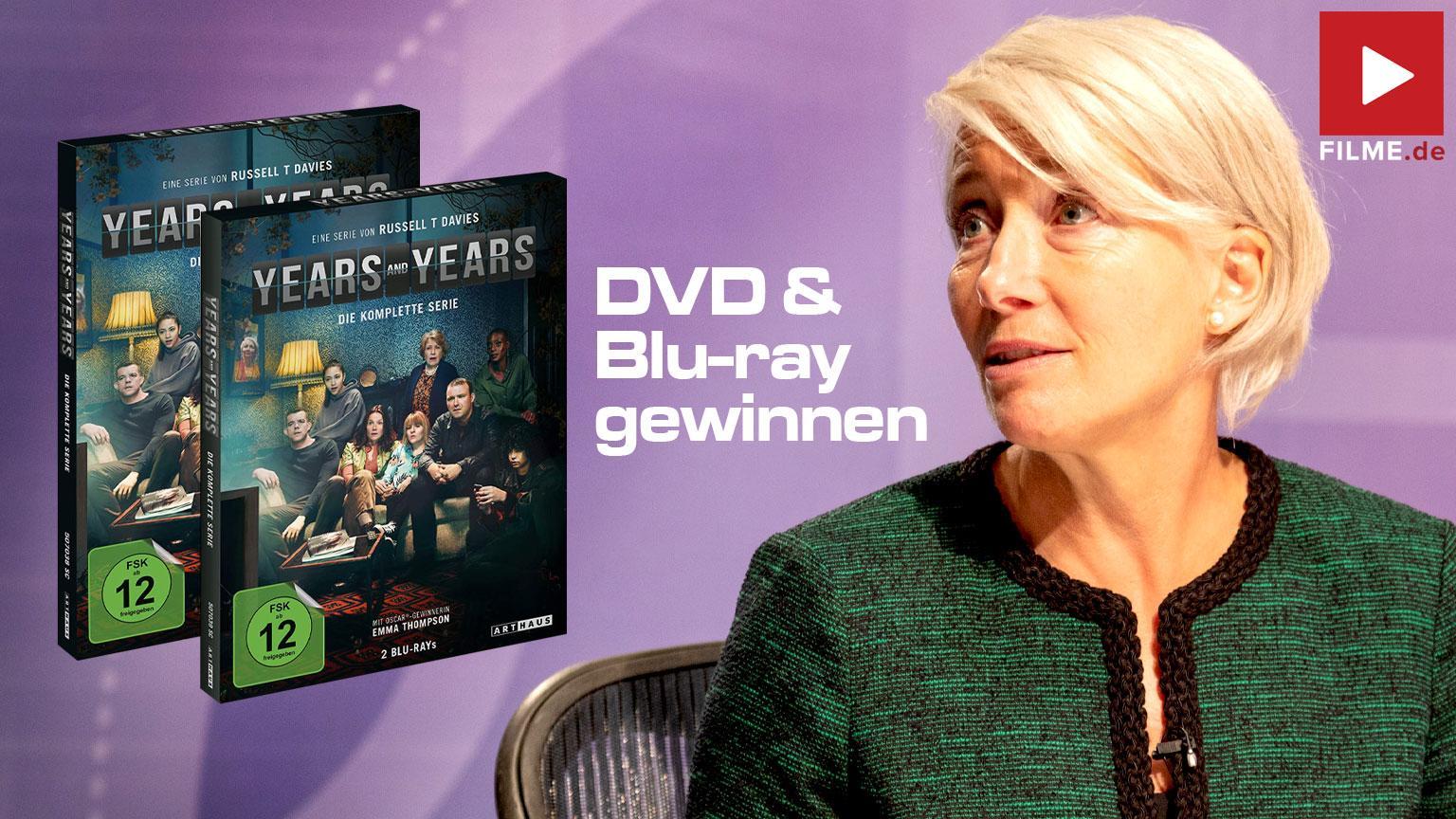 YEARS & YEARS / DIE KOMPLETTE SERIE / BLU-RAY Gewinnspiel gewinnen shop kaufen DVD Artikelbild
