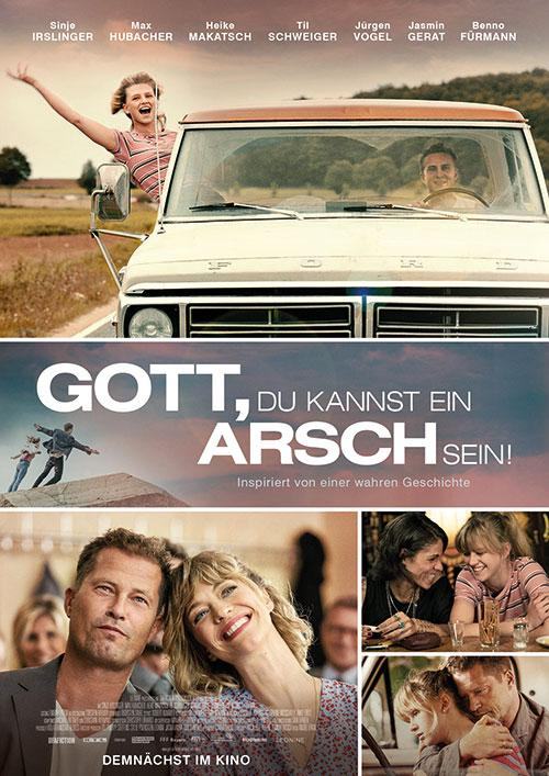 Gott, du Kannst Ein Arsch Sein! Film 2020 Kino Plakat Trailer