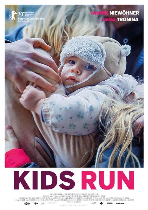 Kids Run Film 2020 Kino Plakat