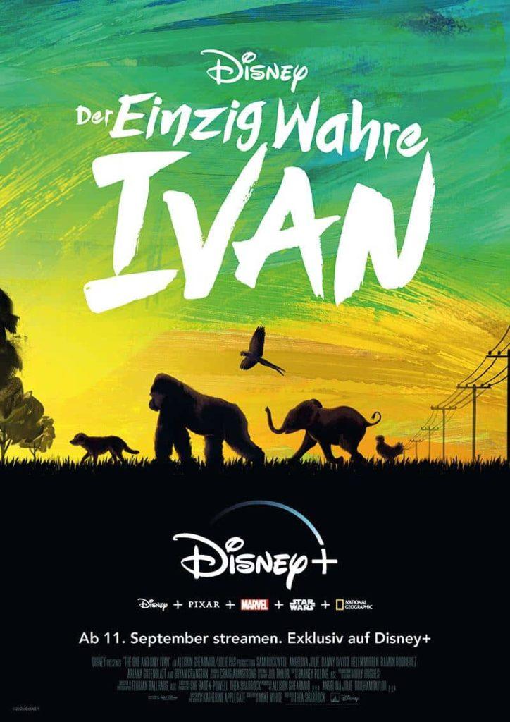DER EINZIG WAHRE IVAN 2020 Film Streming Disney News Trailer Review Kritik