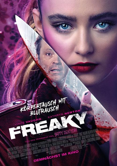 Freaky Film 2020 Kino Plakat