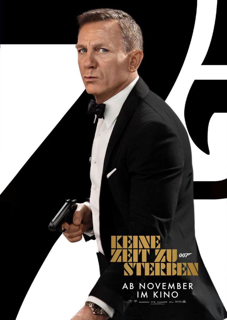 James Bond Keine zeit zu sterben KIno Plakat Review Plot Inhalt KIno Termin 2020 NOvember 12