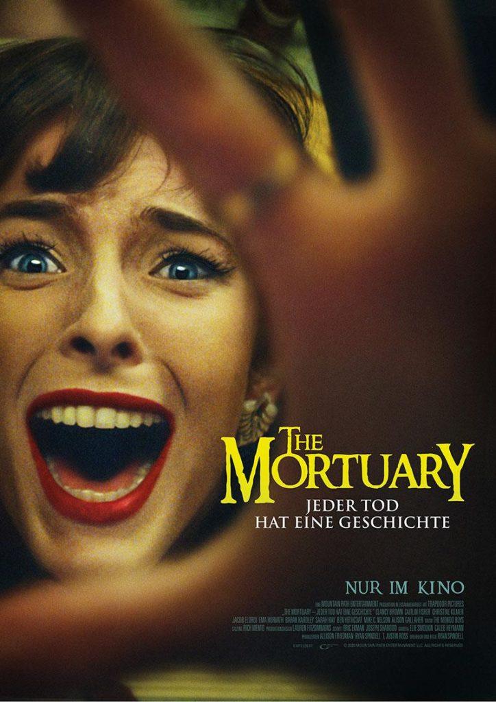 THE MORTUARY – JEDER TOD HAT EINE GESCHICHTE 2020 Film Kino Kaufen Shop News Trailer Kritik