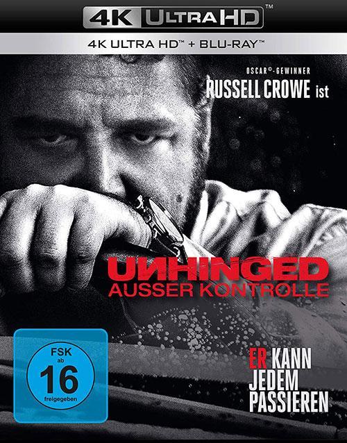Unhinged - Ausser Kontrolle [Blu-ray] shop kaufen Cover