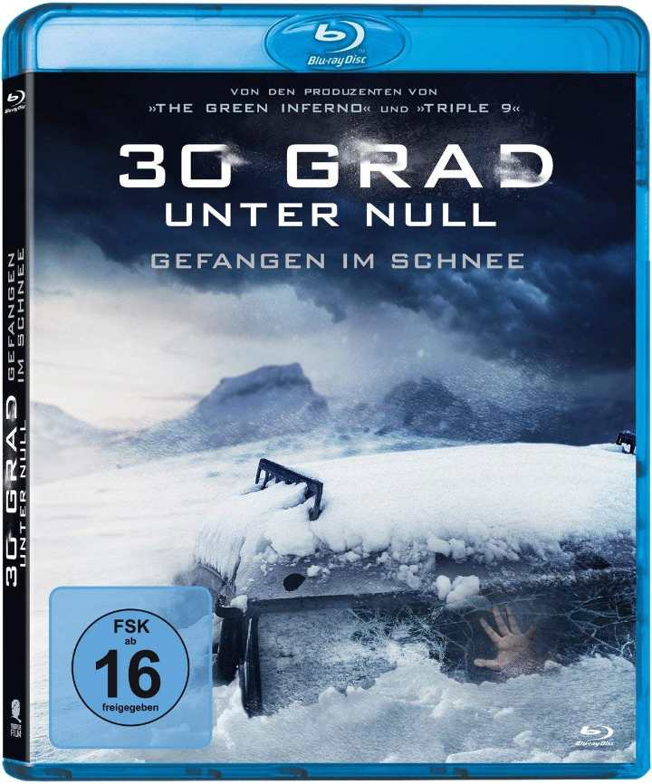 30 Grad unter Null - Gefangen im Schnee Cover Film Blu-ray Shop kaufen