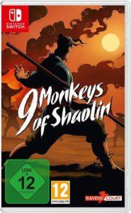 9 Monkeys of Shaolin Nintendo Switch Spiel review shop kaufen Cover