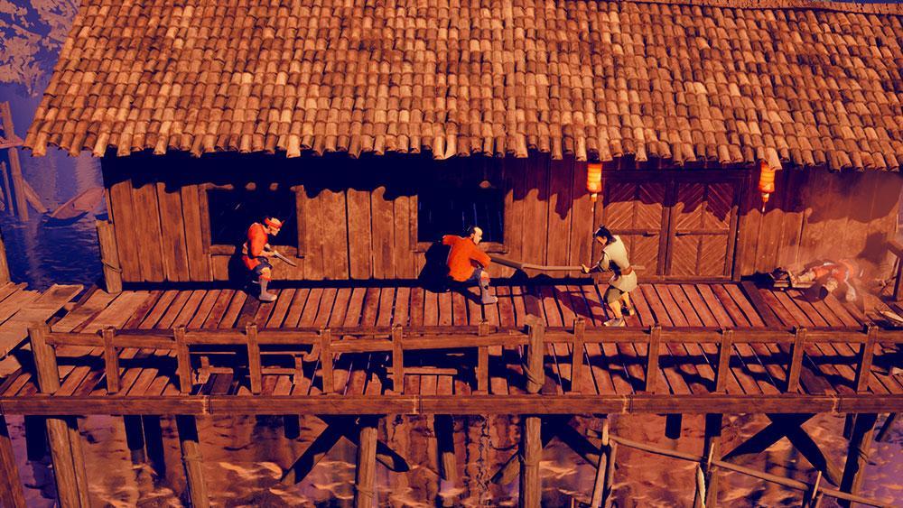 9 Monkeys of Shaolin Nintendo Switch Spiel review shop kaufen Szenenbild