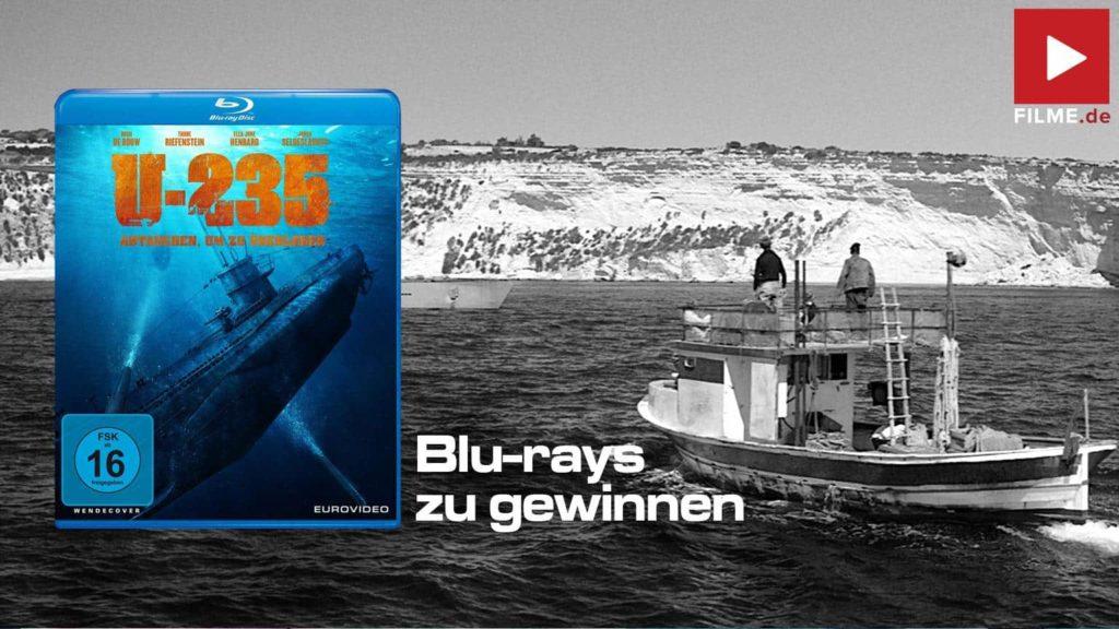 U-235 Abtauchen um zu überleben Gewinnspiel gewinnen Blu-ray shop kaufen Artikelbild