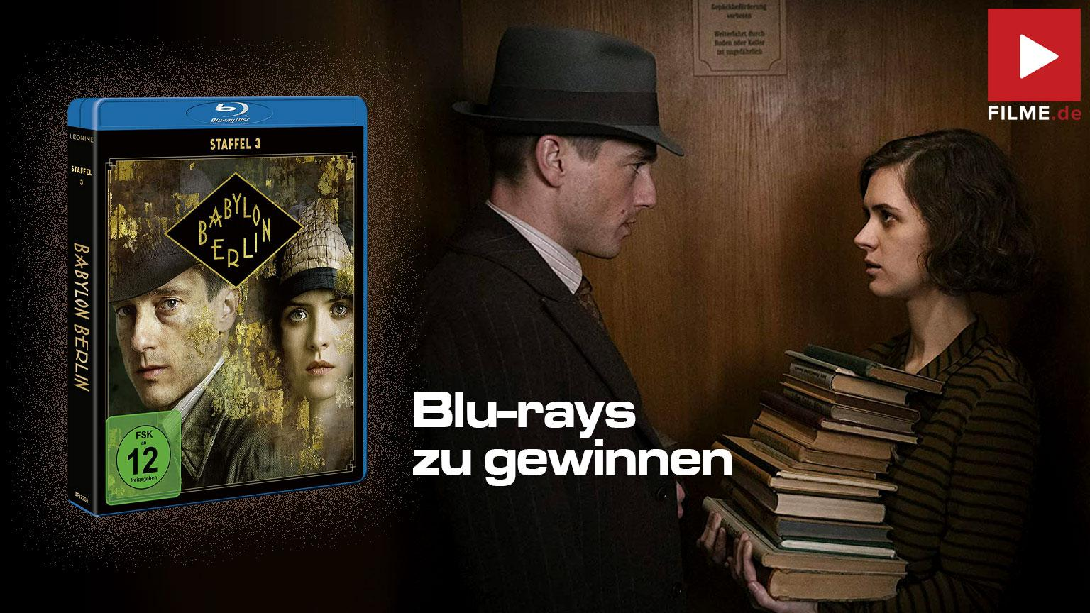 Babylon Berlin Stffel 3 Gewinnspiel gewinnen Blu-ray DVD shop kaufen Artikelbild