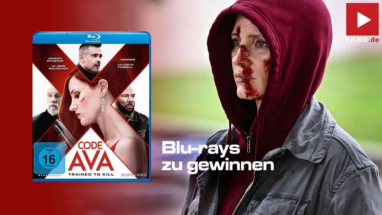 Code AVA Trained to kill Film 2020 Gewinnspiel gewinnen shop kaufen Blu-ray DVD Artikelbild