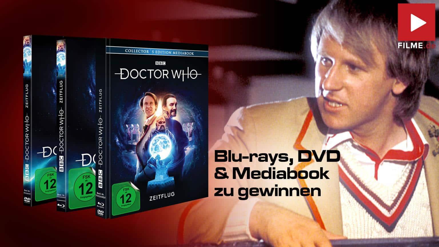 Doctor Who - Fünfter Doktor – Zeitflug Mediabook Shop kaufen Gewinnspiel gewinnen