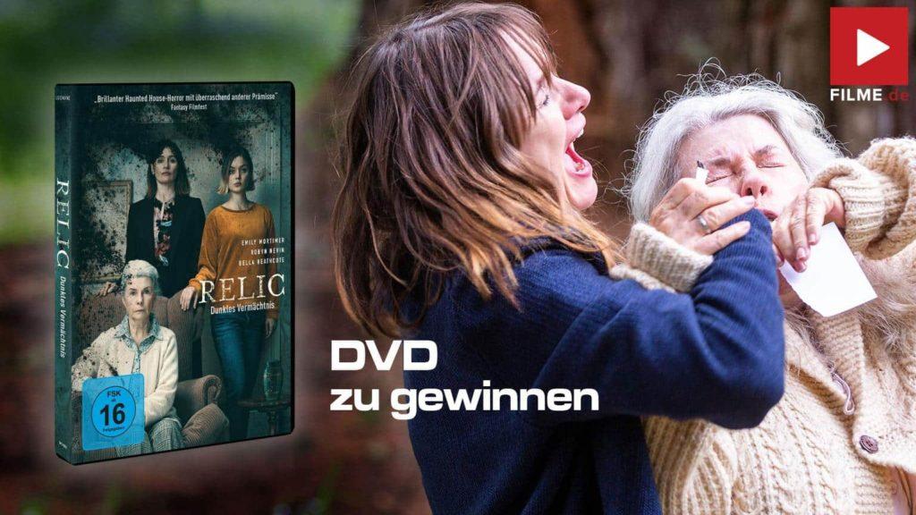 Relic Blu-ray Film 2020 Gewinnspiel gewinnen DVD Blu-ray shop kaufen Artikelbild
