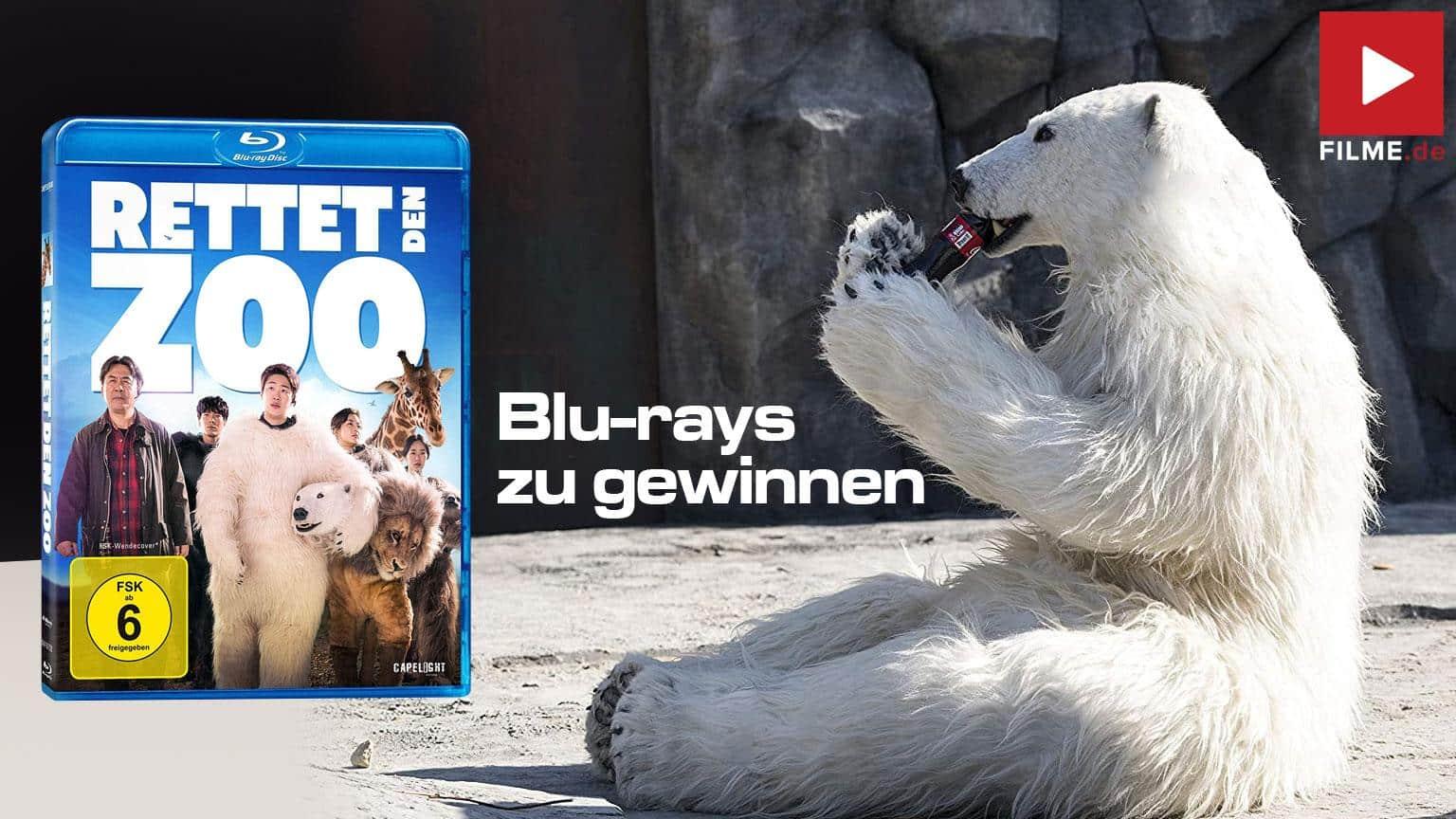 Rettet den Zoo Film 2020 Gewinnspiel gewinnen Shop kaufen Blu-ray DVD Artikelbild
