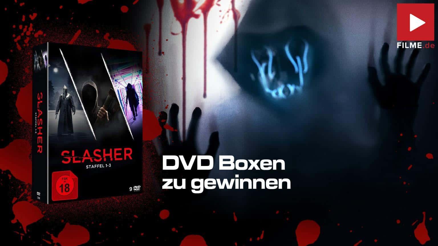 Slasher Staffel 1 - 3 Gesamtbox Blz-ray DVD Gewinnspiel Artikelbild shop kaufen gewinnen Artikelbild