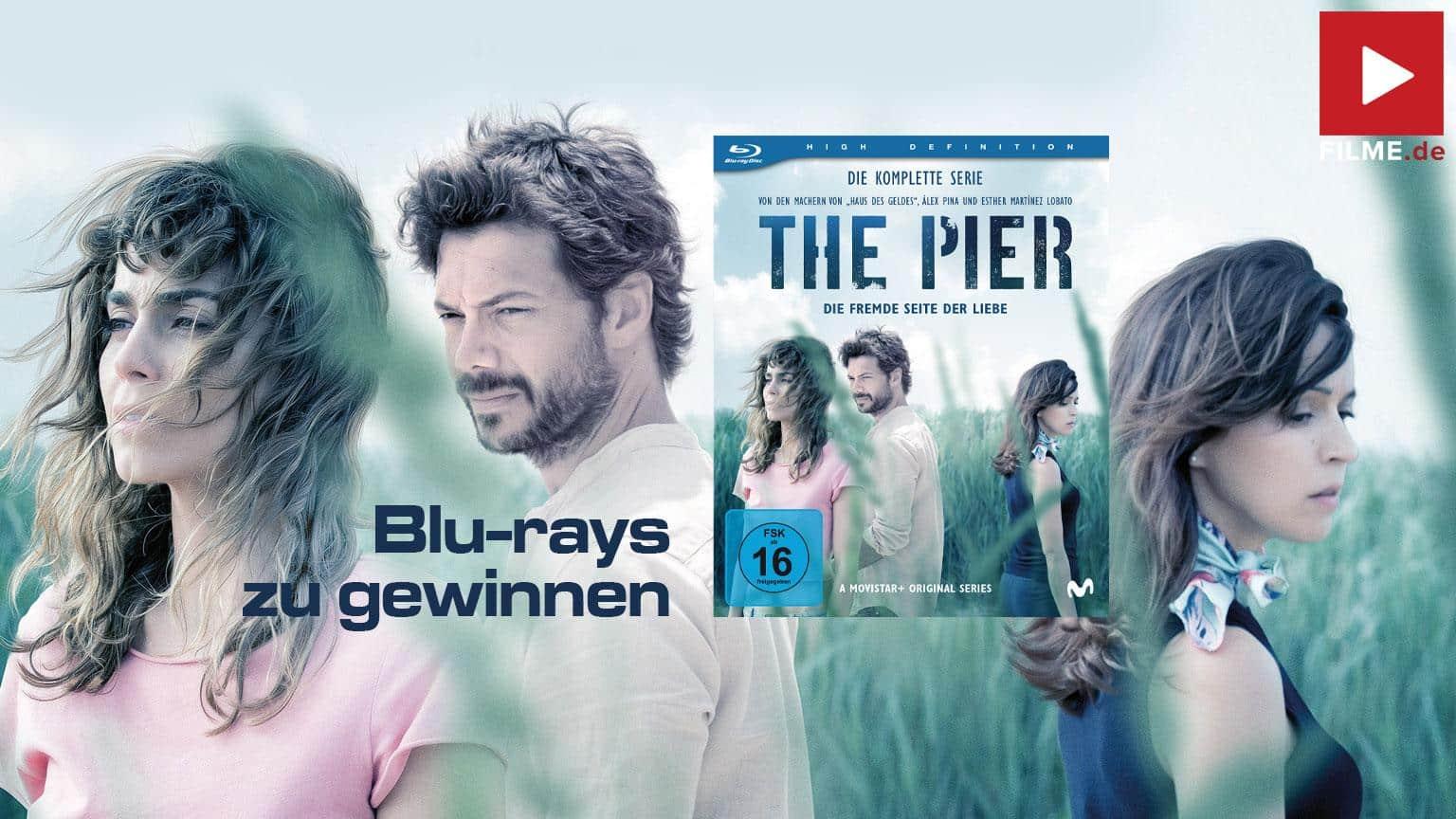 """THE PIER – Die fremde Seite der Liebe"""" Staffel 2 Staffel 1 Gesamte Serie Gewinnspiel gewinnen BLu-ray shop kaufen Artikelbild"""