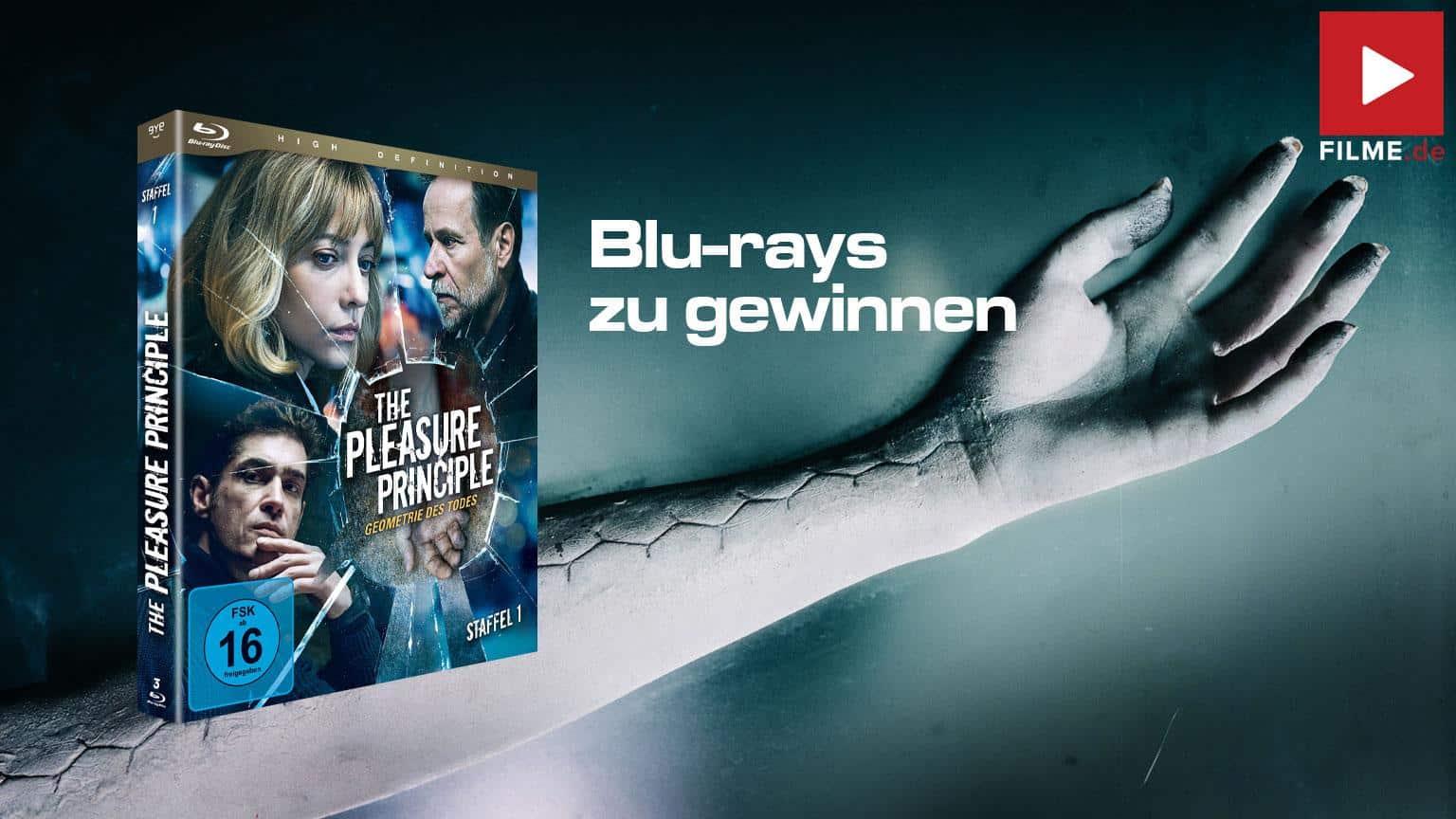 The Pleasure Principle Serie 2020 gewinnspiel gewinnen Artikelbild shop kaufen Blu-ray DVD