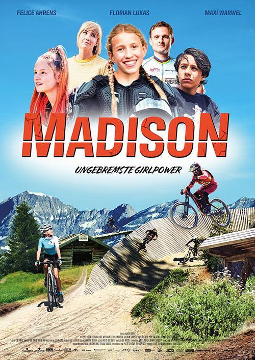 Madison Ungebremste Girlpower Film 2021 Kino Plakat