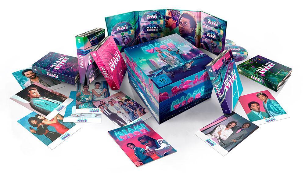 Miami Vice - Die komplette Serie Blu-ray Box Ultimate Edition