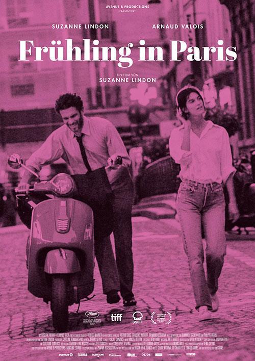 Frühling in Paris Film 2021 Kino Plakat