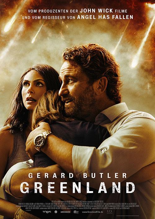 Greenland Film 2020 Kino Plakat Blu-ray COver