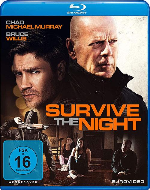 Survive the Night [Blu-ray] Cover shop kaufen Film 2020