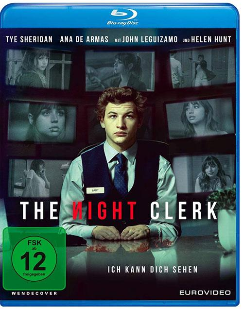 The Night Clerk [Blu-ray] Cover shop kaufen