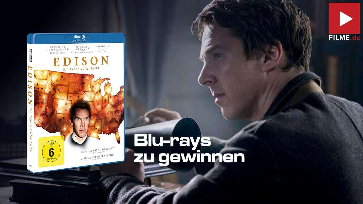 Edison - Ein Leben voller Licht Blu-ray DVD Film 2020 Shop kaufen Gewinnspiel Artikelbild