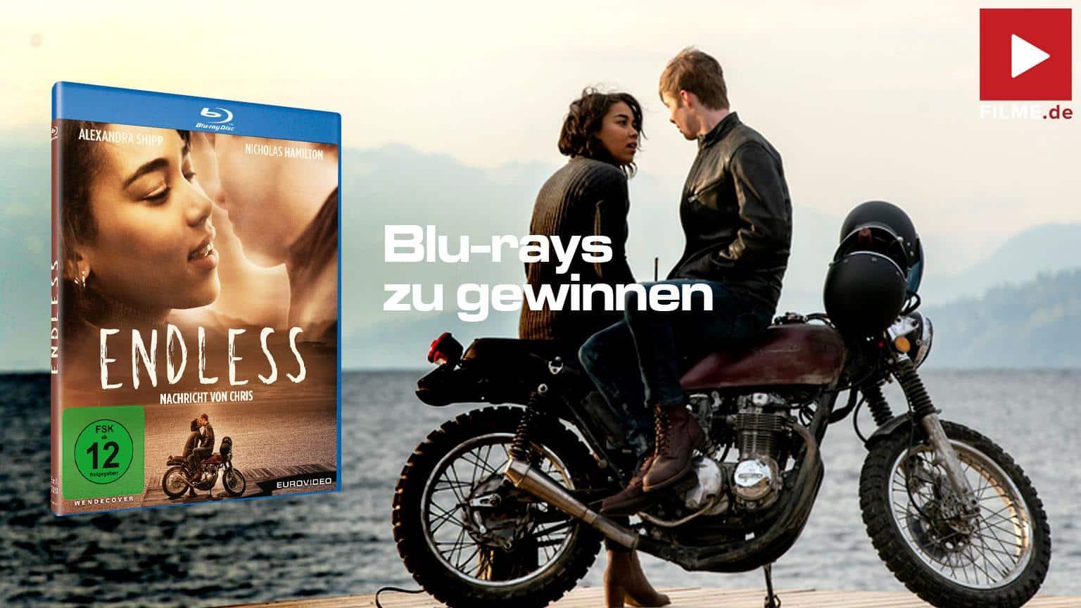 Endless Nachricht von Chris Film 2020 Blu-ray DVD Shop kaufen Gewinnspiel gewinnen Artikelbild