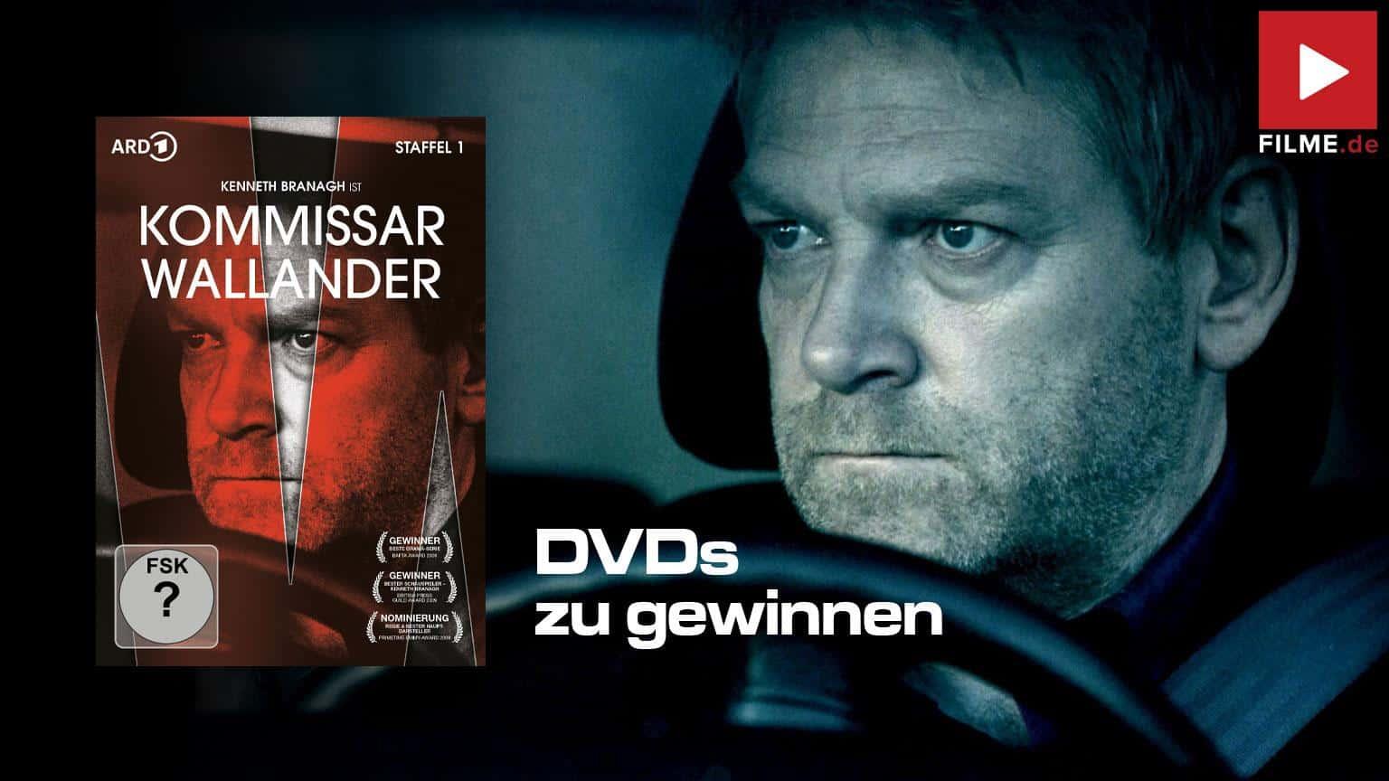 Kommissar Wallander Staffel 1 Gewinnspiel gewinnen Blu-ray DVD shop kaufen Artikelbild