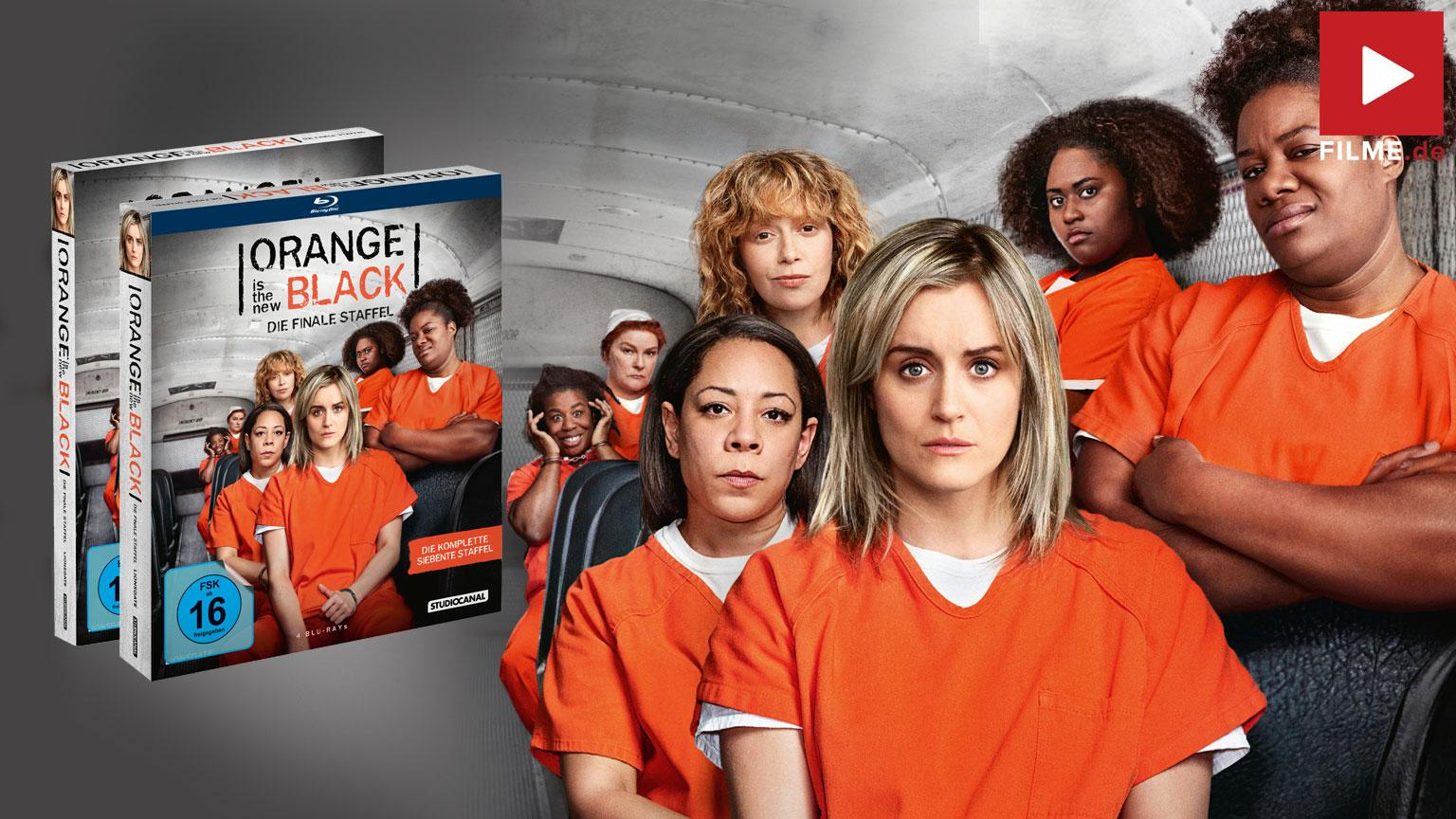 Orange is the New Black Staffel 7 Blu-ray DVD shop kaufen Gewinnspiel gewinnen Artikelbild