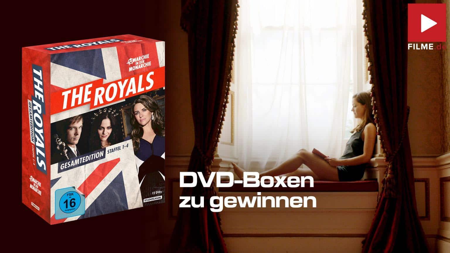 The Royals Gesamtedition DVD BOx shop kaufen gewinnspiel gewinnen Artikelbild