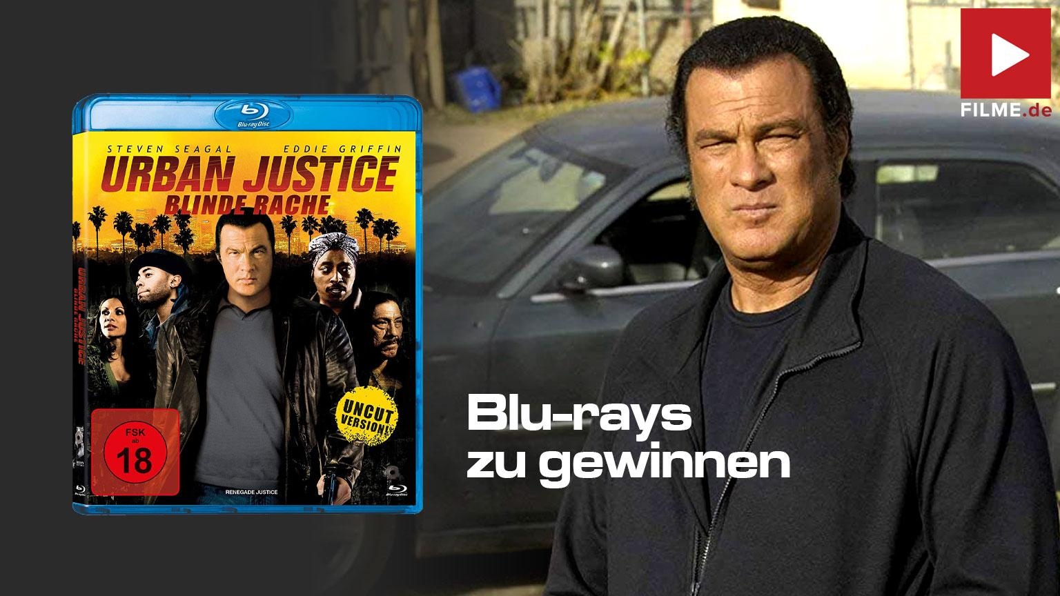 Urban Justice Blinde Rache Blu-ray DVD Gewinnspiel gewinnen shop kaufen Artikelbild